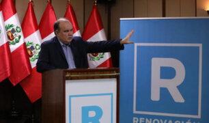 López Aliaga sobre debate presidencial: si van a tener un show con insultos, no voy a responder