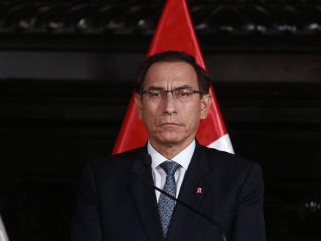 Comisión Permanente aprobó denuncias constitucionales contra Martín Vizcarra