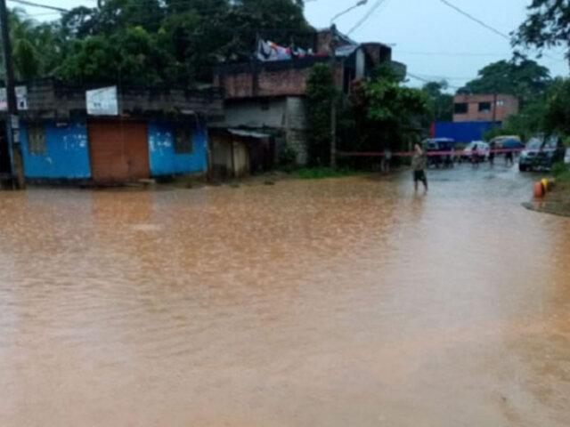 Decenas de viviendas inundadas dejaron torrenciales lluvias en la región Junín
