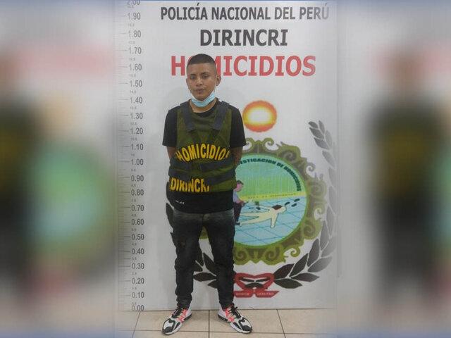 Policía Nacional capturó a delincuente con más de 15 denuncias