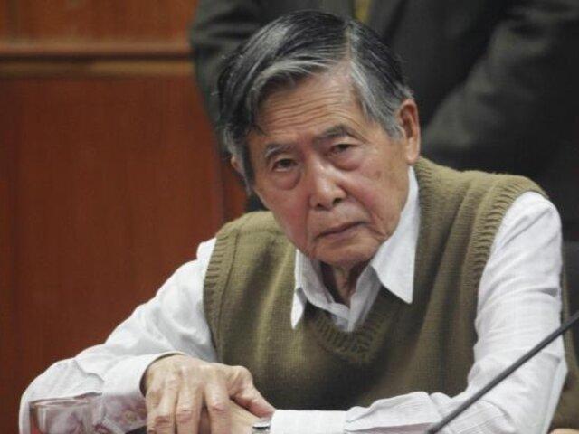 Alberto Fujimori: Fiscalía formalizó denuncia por caso esterilizaciones forzadas