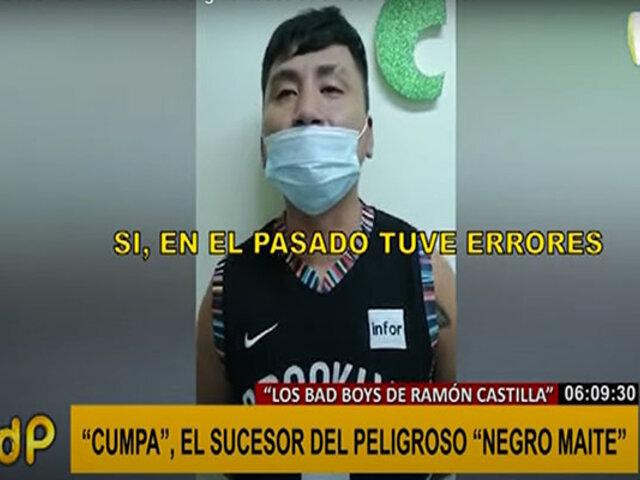 Cae 'Cumpa', sucesor del Negro Maite y nuevo líder de 'los Bad Boys de Ramón Castilla'