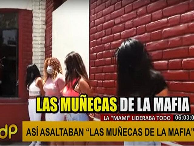 'Las muñecas de la mafia': fingían ser meretrices para robar a sus clientes