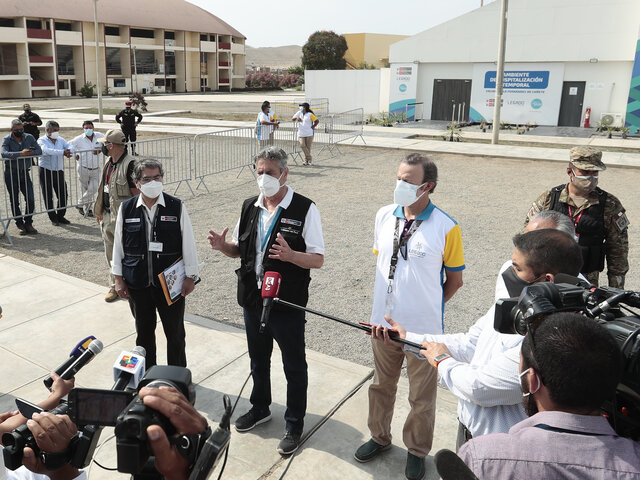 "Presidente Sagasti: ""Mañana miércoles llegarán 50 mil vacunas Pfizer"""