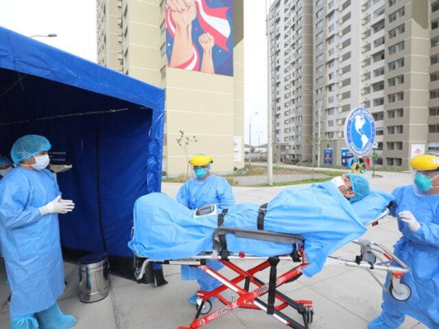 Villa Panamericana: más de 4 mil pacientes COVID-19 atendidos en lo que va de la segunda ola