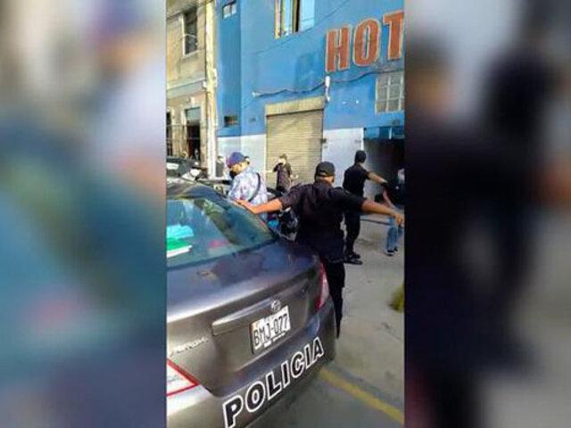 Cercado de Lima: intervienen prostíbulo clandestino que funcionaba bajo la fachada de sauna