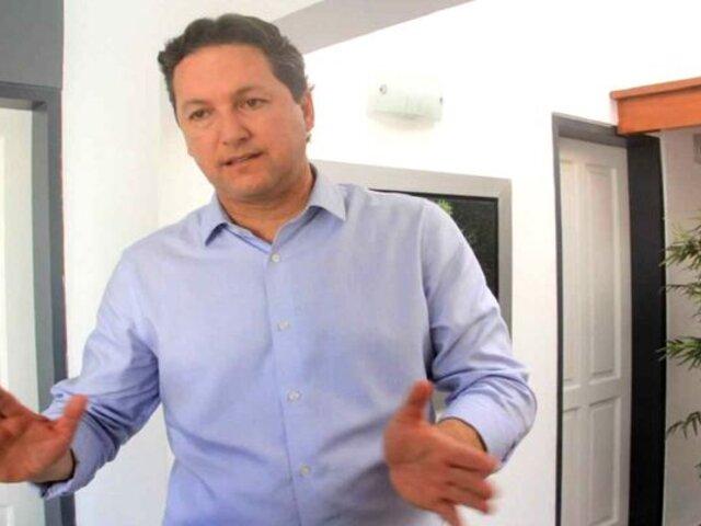 """Salaverry tildó de """"deplorable"""" lo dicho por Sagasti sobre compra de vacunas por privados"""