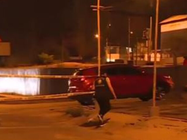 Policía es asesinado en los exteriores de un car wash en Chorrillos