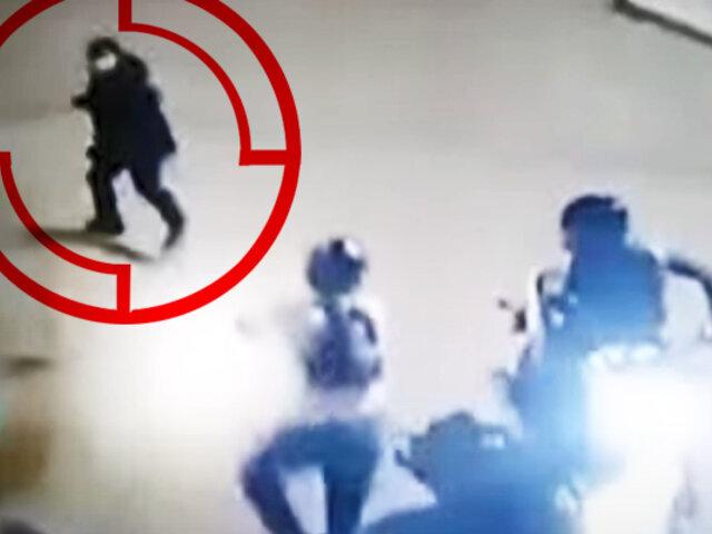 Chorrillos: hombre salva su vida al arrojar su celular
