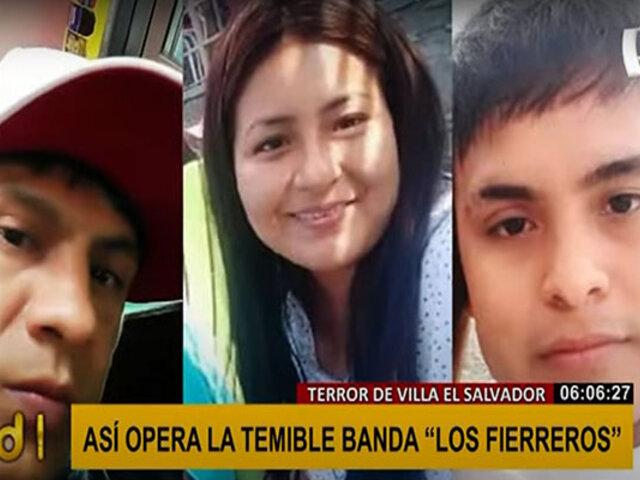 """VES: imágenes muestran cómo opera la banda delincuencial """"Los Fierreros"""""""