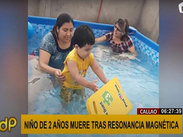Callao: niño de 2 años muere tras someterse a resonancia magnética