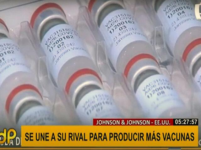 COVID-19: Farmacéutica Merck y su rival J&J se unen para aumentar producción de vacunas