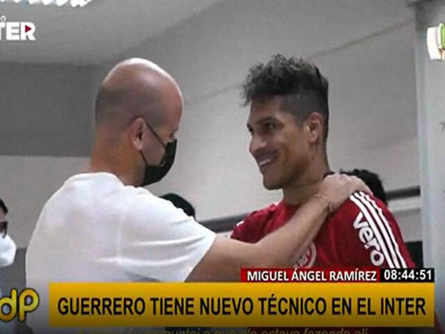 Paolo Guerrero con nuevo técnico: Miguel Ángel Ramírez será entrenador del Inter