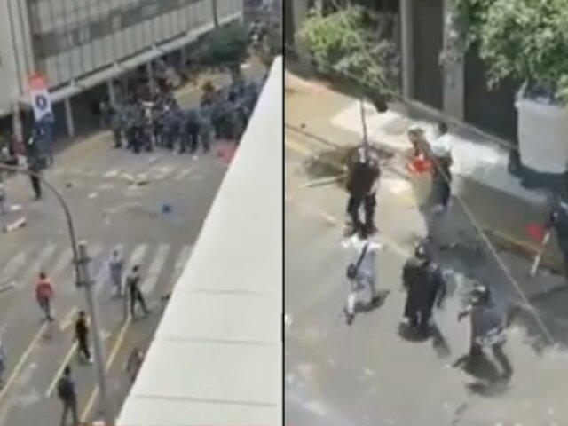 Mesa Redonda: se registra nuevo enfrentamiento entre comerciante y serenos