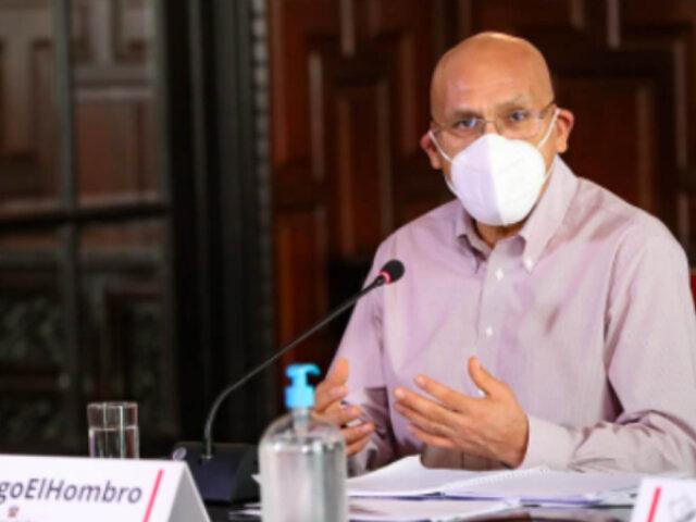 """Waldo Mendoza: """"El 28 de julio dejaremos una economía en franca recuperación"""""""