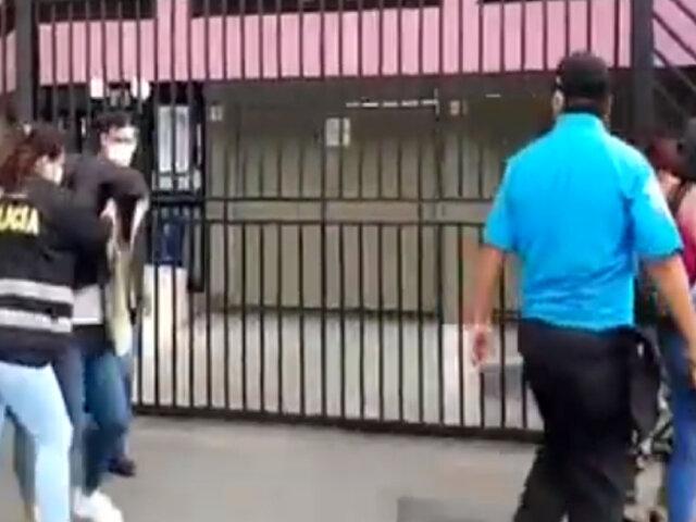 PNP y fiscalizadores de Miraflores intervinieron prostíbulo clandestino