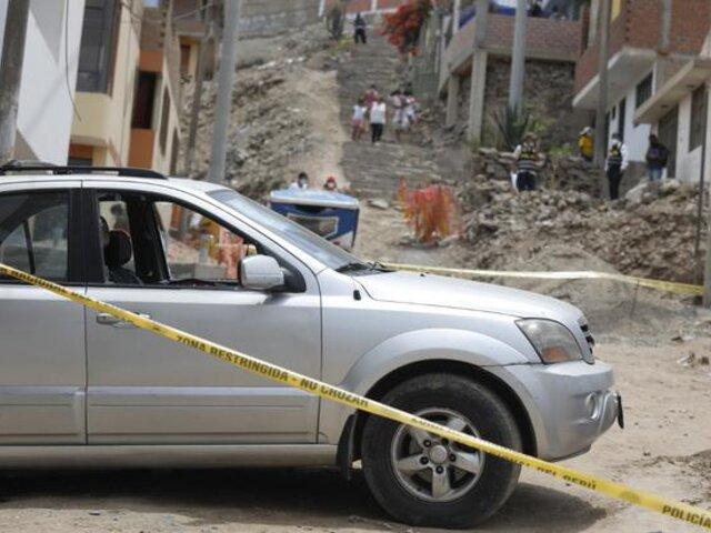 Ancón: Sicarios asesinan de 20 balazos a maestro de obras