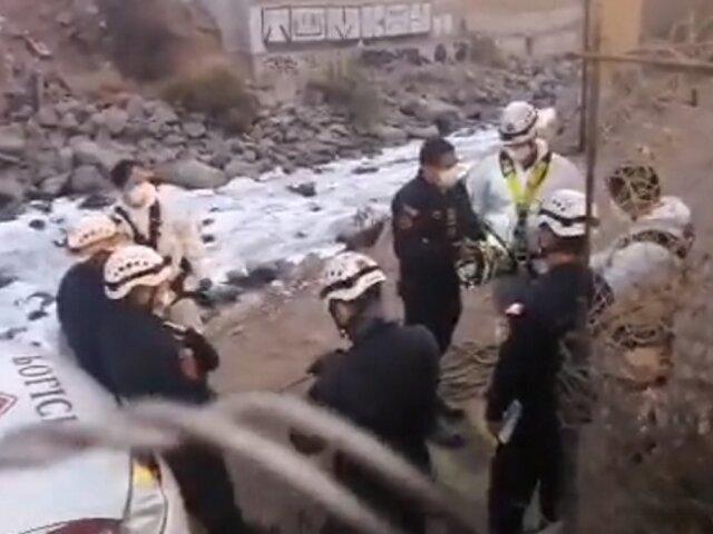 SMP: Hallan cadáver de un hombre en el río Rímac
