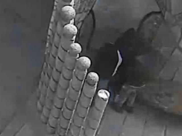 Huancayo: ladrón realiza tocamientos indebidos a menor