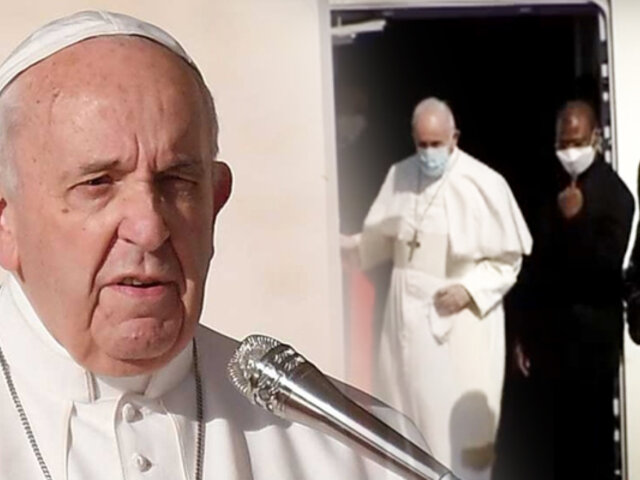 Papa Francisco llegó a Irak: visita histórica