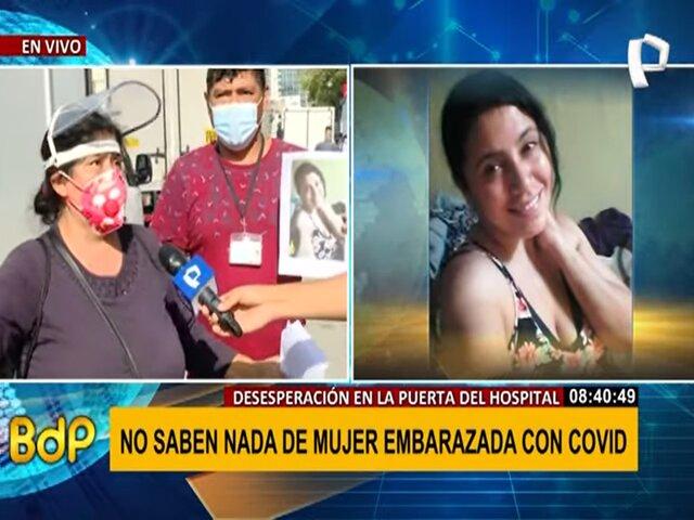 Familia denuncia que hospital no informó a tiempo estado de salud de gestante con COVID-19