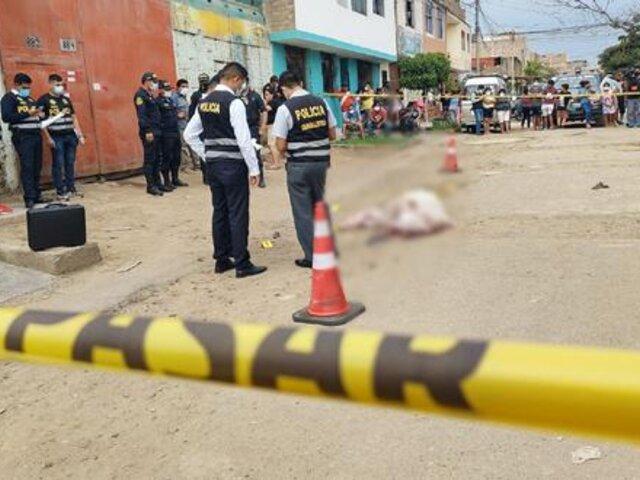 Trujillo: Asesinan de 6 balazos a mecánico mientras reparaba un auto