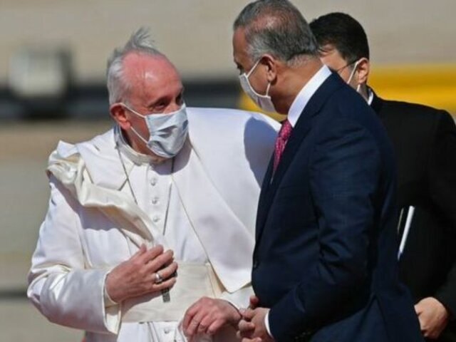 ¿Qué actividades realizará el papa Francisco tras arribar a Irak?