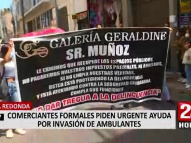 Mesa Redonda: comerciantes formales denuncian competencia desleal por parte de ambulantes