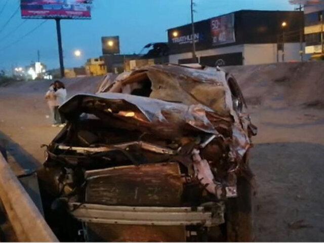 SMP: camioneta arrolla y mata a tres personas, entre ellas una niña de apenas un año