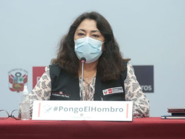Premier Violeta Bermúdez: Este gobierno defenderá la salud pública y la democracia