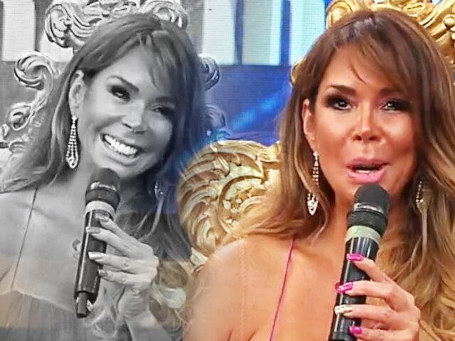 """Carla Barzotti, la bomba sexy de los 90's en """"Porque hoy es sábado con Andrés"""""""