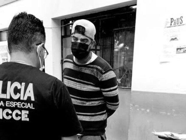 Los Olivos: capturan extranjero que tras discusión atacó e hirió con un cuchillo a su vecino