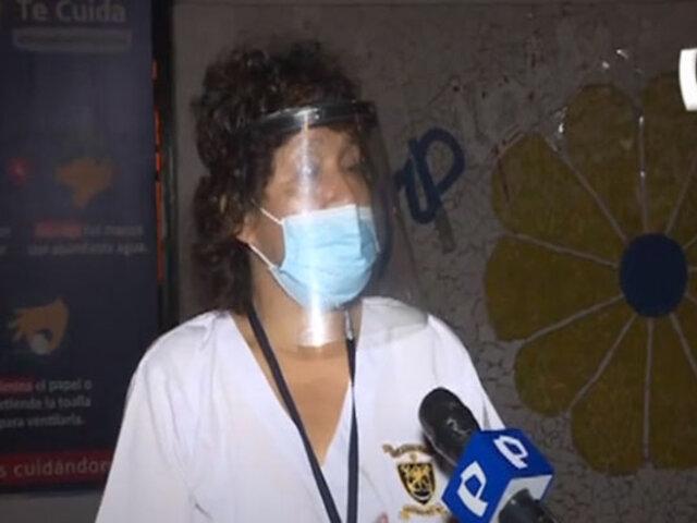 Hospital Sabogal: mujer denuncia que no le permiten ingresar ventilador para esposo con Covid-19