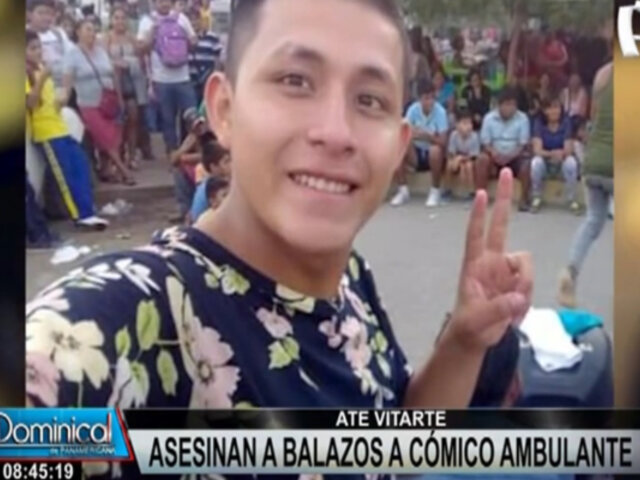 Cómico ambulante fue asesinado de siete balazos dentro de un auto en Ate Vitarte