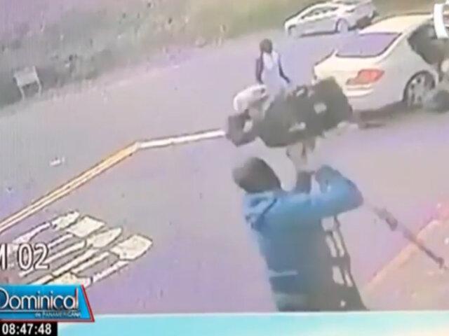 Reportero es asaltado con pistola cuando grababa informe sobre aumento de robos