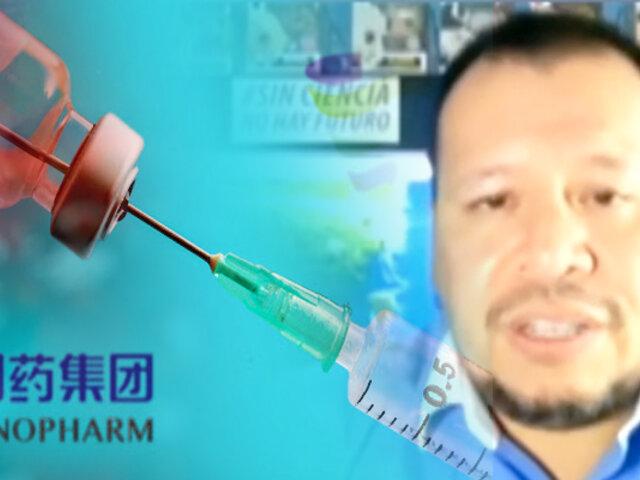 La eficacia de la vacuna de Sinopharm en debate