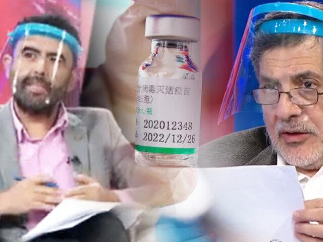 Debate y aclaraciones sobre la vacuna contra el coronavirus producida por Sinopharm