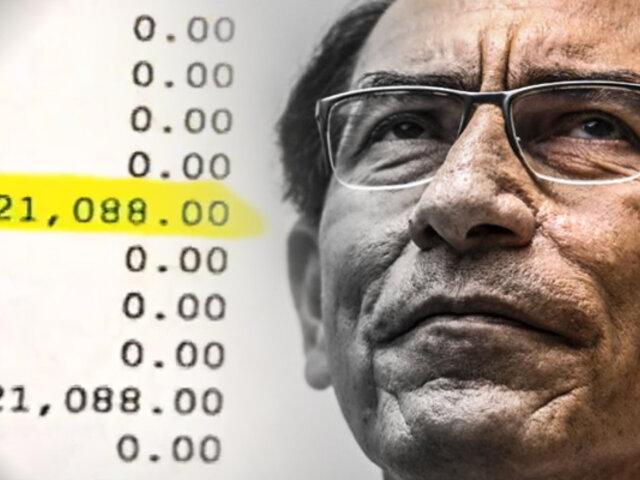 ¡Exclusivo! Tercera empresa constructora acusa a Martín Vizcarra por soborno