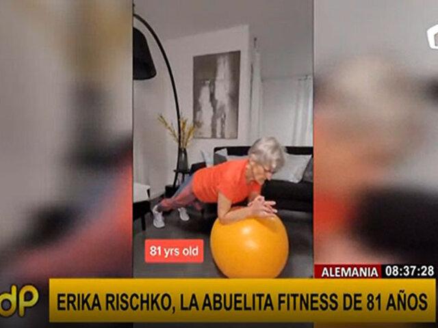 """Conozca a la """"abuelita fitness"""": a sus 81 años se ha convertido en gurú del deporte"""