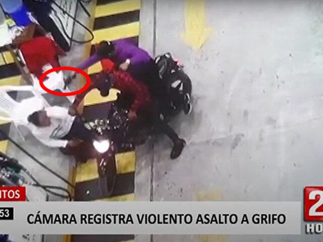 Iquitos: roban más de mil soles a trabajadora de un grifo
