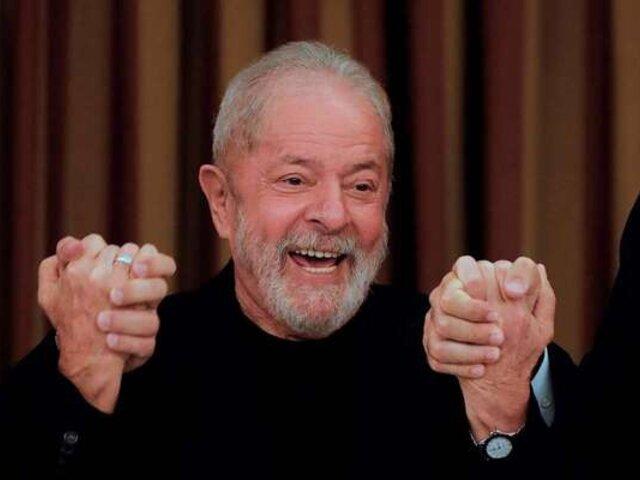 Juez anula sentencias del expresidente brasileño Luiz Inácio Lula da Silva