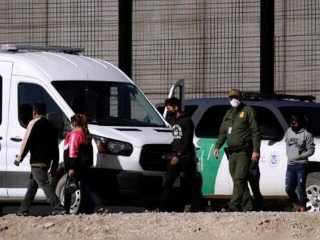 EEUU: asesores de presidente Biden visitan frontera con México ante aumento migratorio