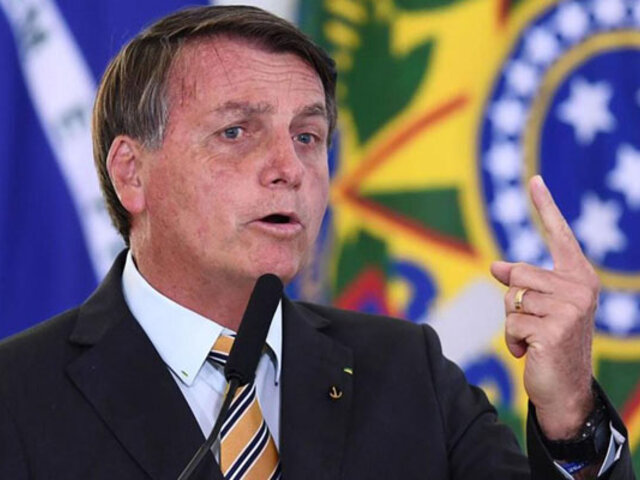 Covid-19: presidente Bolsonaro descartó confinar a Brasil pese a alarmante aumento de casos