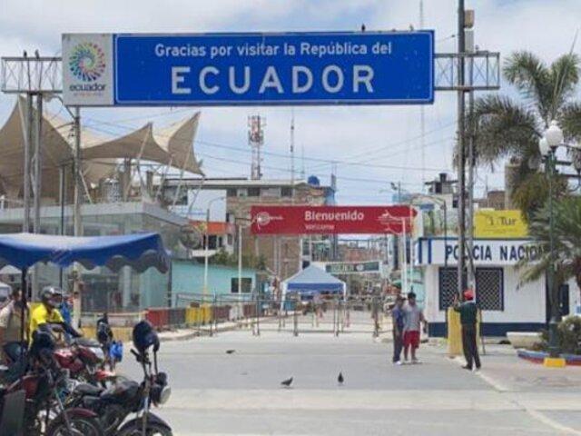 Tumbes: comerciantes peruanos y ecuatorianos piden reapertura del puente Internacional