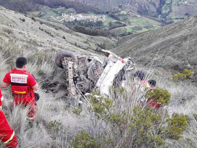 Tragedia en Ucayali: 17 personas mueren calcinadas tras caída de camioneta a abismo
