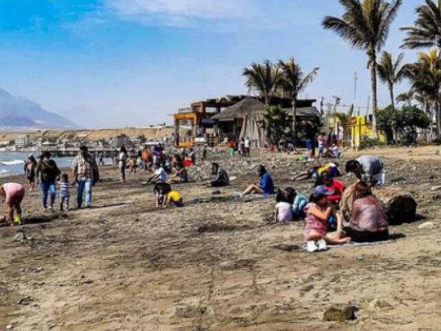La Libertad: Defensoría demanda mayor control en playas para evitar contagios covid-19