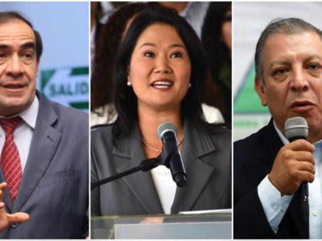 Candidatos presidenciales expusieron sus propuestas en la 'Lucha contra la Corrupción'