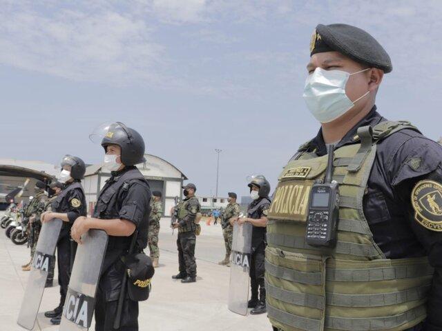 Policía Nacional terminará de aplicar las 17.550 dosis de Pfizer a sus miembros, este miércoles