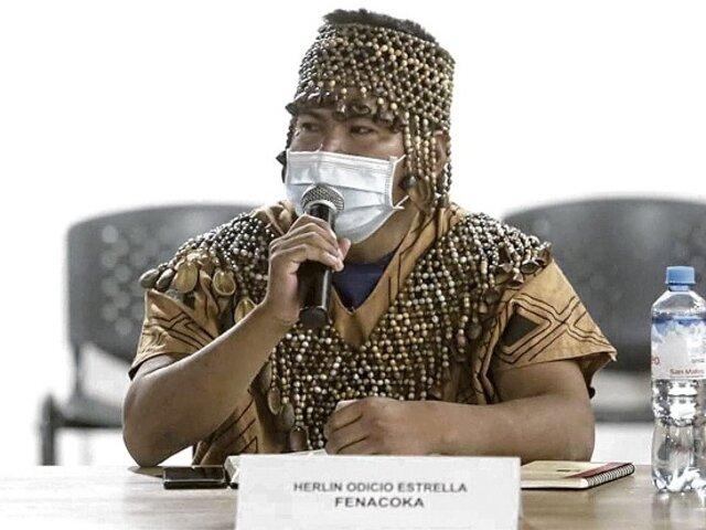 Líder indígena Cacataibo denuncia amenazas de muerte de narcotraficantes