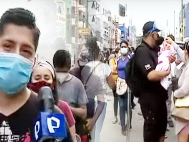 Independencia: se registran largas colas para trámites en la Reniec